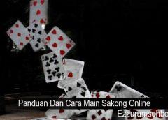 Panduan Dan Cara Main Sakong Online