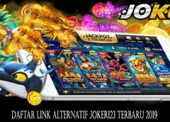 Daftar Link Alternatif Joker123 Terbaru 2019
